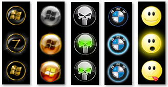 windows 7 start menu orbs