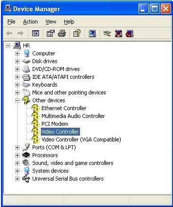 Install video controller drivers - drivers for windows 7