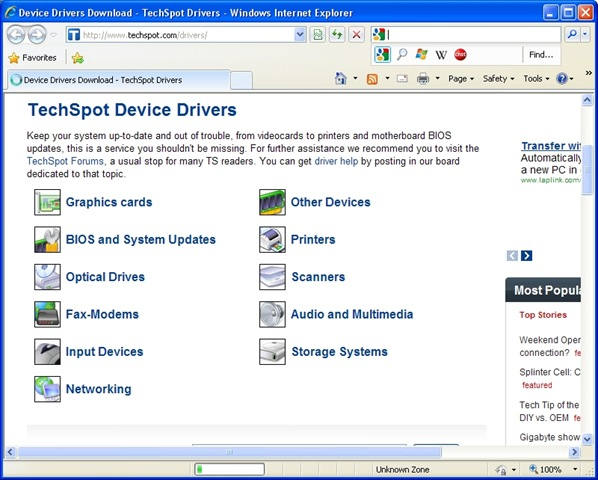 Free Websites to download System Drivers