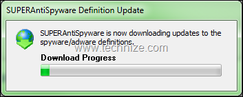 superantispyware definition update