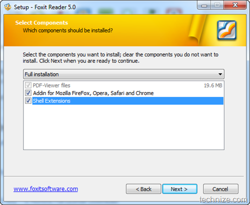 Foxit Reader Full installation
