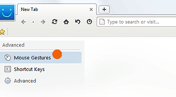 maxthon mouse gestures