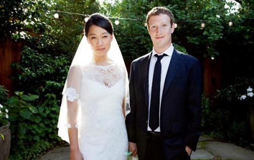 Mark Zuckerberg And Pricilla Chan Married pics (1)
