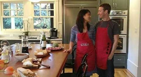 Mark Zuckerberg And Pricilla Chan Married pics (24)