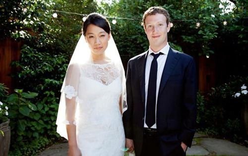 Mark Zuckerberg And Pricilla Chan Married pics (7)